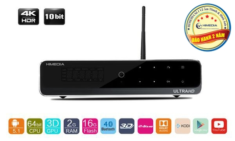 ANDROID TV BOX HIMEDIA Q10 PRO 16GB EMMC