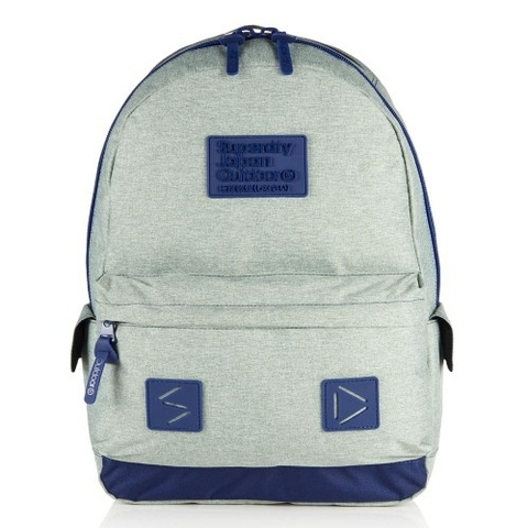 Superdry Silicone Montana Rucksack Light Grey