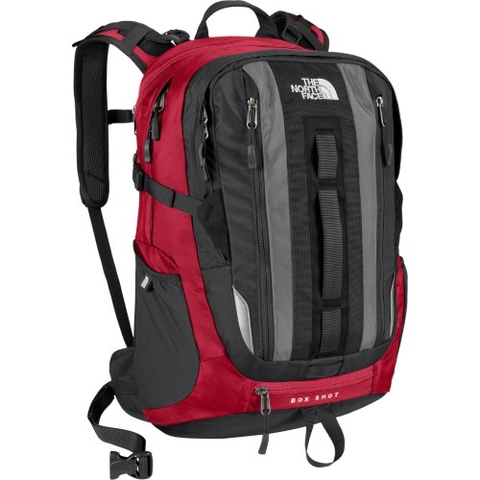 The North Face Box Shot Backpack Red