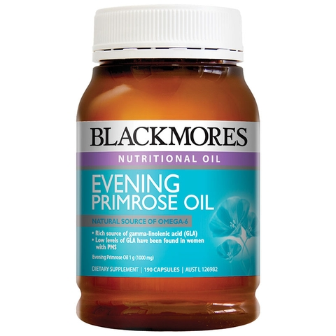 Blackmores Evening primrose Úc 190 viên