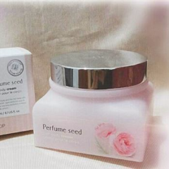 Perfume seed soft body cream