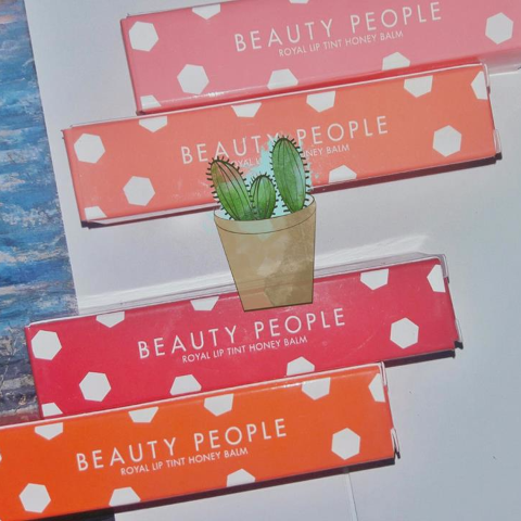 Son dưỡng màu Beauty people Royal lip tint honey balm