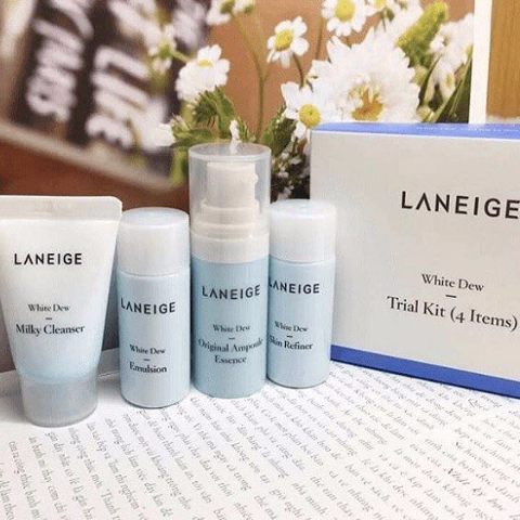 Laneige White Dew Trial Kit - 4 items