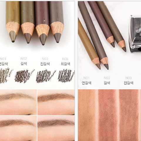 Matte Formula Eye Brow Pencil