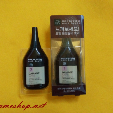 Dưỡng Tóc Mise en hair salon Damage Care Power K hair Oil