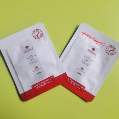 Sample Kem Chống Nắng Cell Fusion C Laser Sunscreen 100 SPF50+PA+++