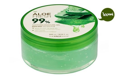 Gel lô hội jeju aloe fresh soothing gel the face shop