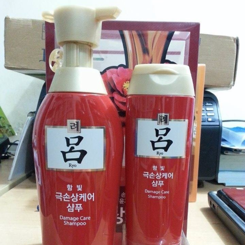 DẦU GỘI RYO HAIR DAMAGE CARE SHAMPOO