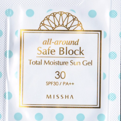 ALL AROUND SAFE BLOCK TOTAL MOISTURE SUN GEL