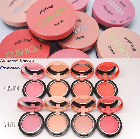 MÁ HỒNG KEM 2IN1 SUGARBALL CUSHION BLUSHER – ARITAUM