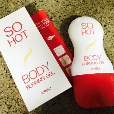 GEL TAN MỠ BODY BURNING GEL SO HOT - A'PIEU