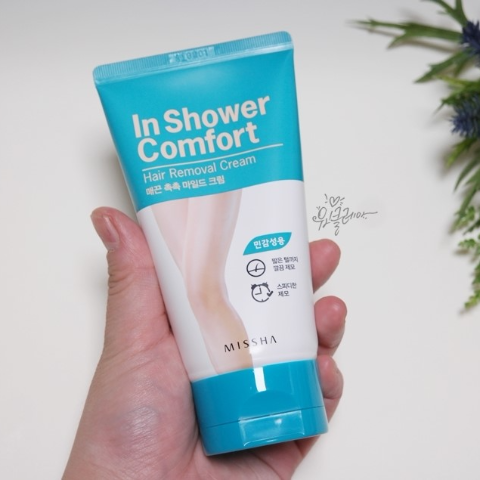 In Shower Comfort Hair Removal Cream