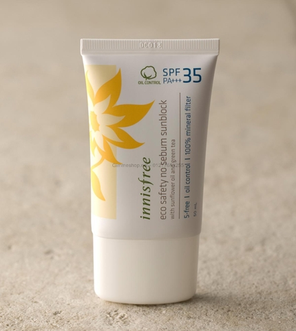 ECO SAFETY NO SEBUM SUN BLOCK SPF 35 PA+++