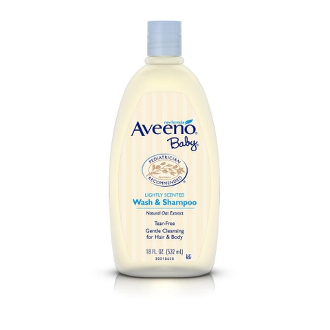 AVEENO BABY WASH AND SHAMPOO