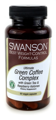 TPCN Green Coffee Complex with Green Tea & Raspberry Ketones