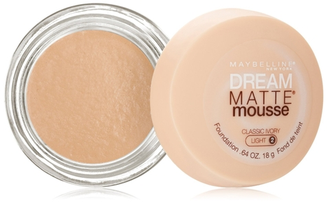 Phấn nền Maybelline New York Dream Matte Mousse Foundation, Classic Ivory