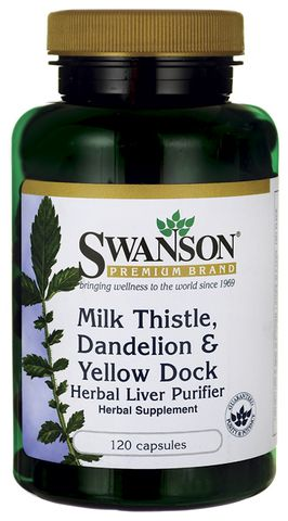 TPCN bổ gan Milk Thistle, Dandelion & Yellow Dock