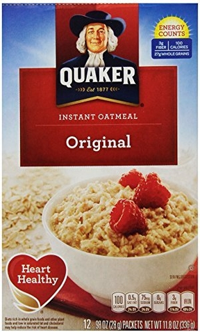 Yến mạch Quaker Oats Old Fashioned Oatmeal