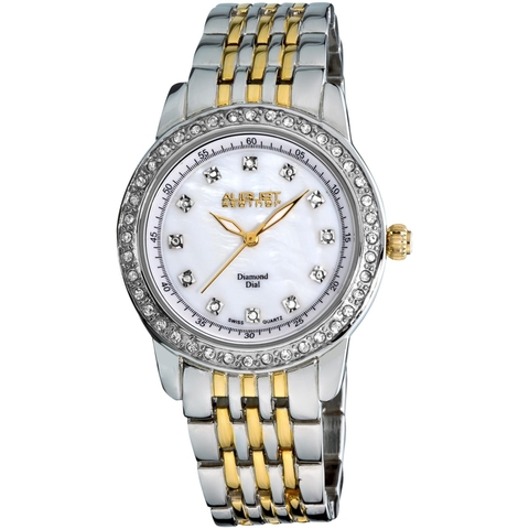 Đồng hồ August Steiner Women's AS8045TTG Diamond and Crystal Swiss Quartz