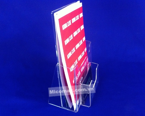 KTR-2409 Menu/Leaflet Holder with Pocket