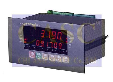 Đầu cân XK3190-C602 cho cân đóng bao tự động