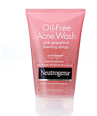 Sữa rửa mặt Neutrogena Oil-Free Acne Wash Pink Grapefruit Foaming Scrub