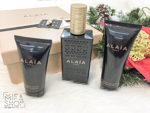 BỘ QUÀ TẶNG NƯỚC HOA ALAIA PARIS 100ML, LOTION 75ML, SHOWER GEL 50ML