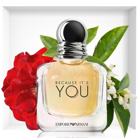 Nước hoa nữ Emporio Armani Because It's You 100ml