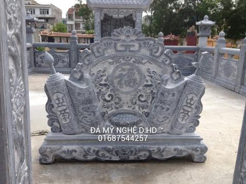 cuốn thư đá đẹp tại Ninh Bình cho cổng lăng mộ