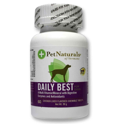 Pet Naturals Daily Best 60 tablets