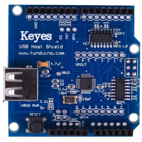 Arduino host shield