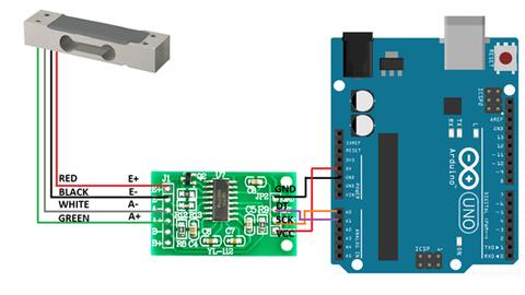 HX711 Module chuyển đổi ADC 24 bít Loadcell HX711 ::