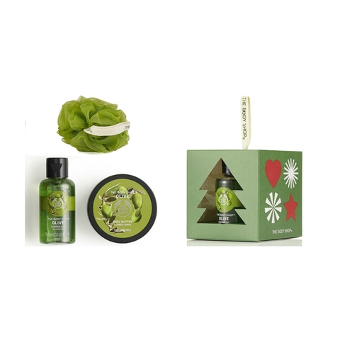 Bộ Quà Tặng The Body Shop Olive Treats Cube
