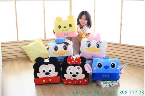 GỐI MỀN CUTE 3 IN 1