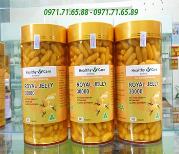 Sữa ong chúa Royal Jelly Healthy