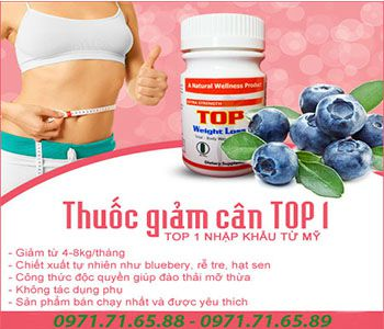 Giảm cân Top 1 Weight Loss Pill