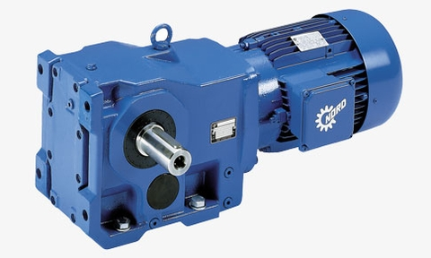 Helical-Bevel Geared Motors