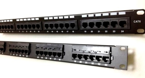 Thanh đấu nối Patch Panel cat5e 24 port AMP/COMMSCOPE