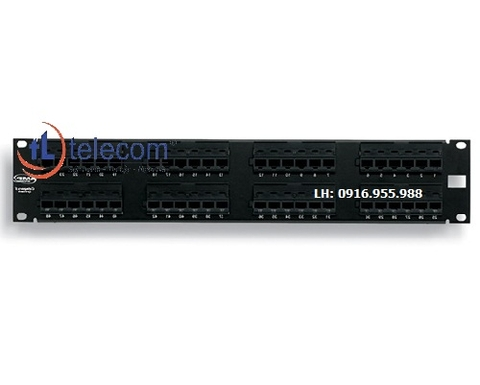 Patch panel 48 port CAT5E COMMSCOPE