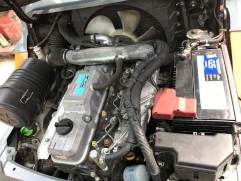 xe nâng cũ được bảo dưỡng tổng thể
