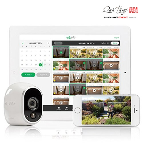 Arlo Security System Arlo Security System - 2 Wire-Free HD Cameras, Indoor/Outdoor, Night Vision