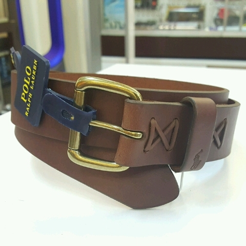 Thắt Lưng Da Nam Polo Ralph Lauren  leather Belt