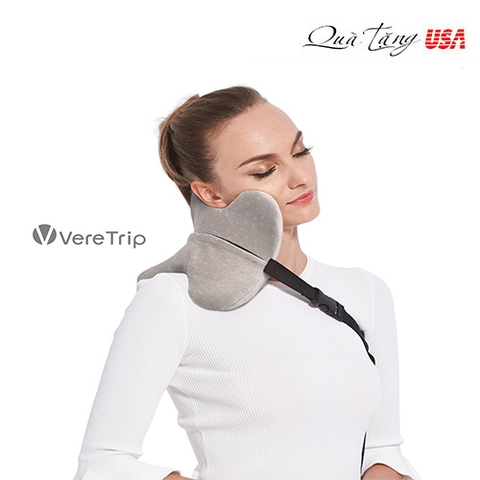 Gối kê đầu VereTrip Memory Foam Travel Neck Pillow