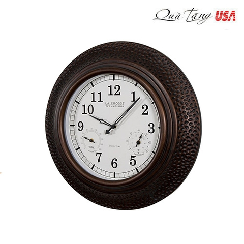 La Crosse Technology Atomic Indoor Outdoor Wall Clock