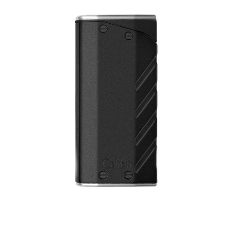 Hộp quẹt Colibri Torque Dual Flame Lighter Black & Chrome