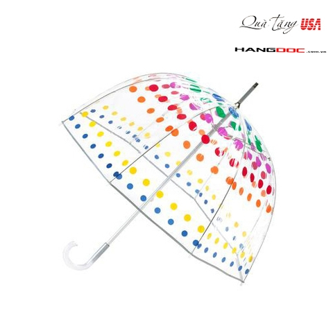Dù tay - Totes Polka Dot Bubble Umbrella