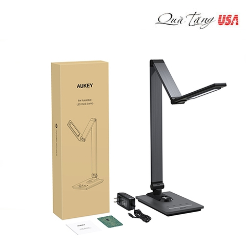Đèn để bàn AUKEY LED Desk Lamp 3 Lighting Modes, 7 Brightness Levels, Timer, Touch Control