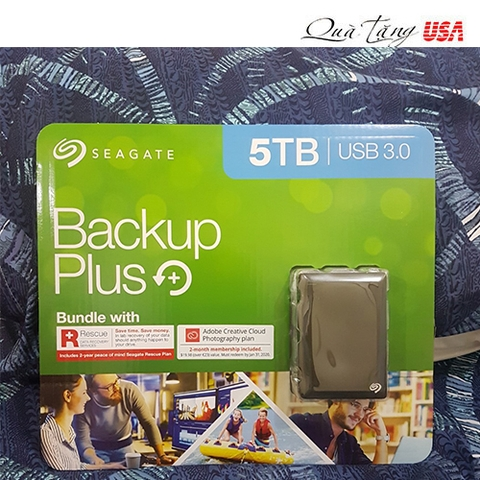 Ổ cứng Hdd 5tb, Seagate Backup Plus Portable 5TB External Hard Drive HDD
