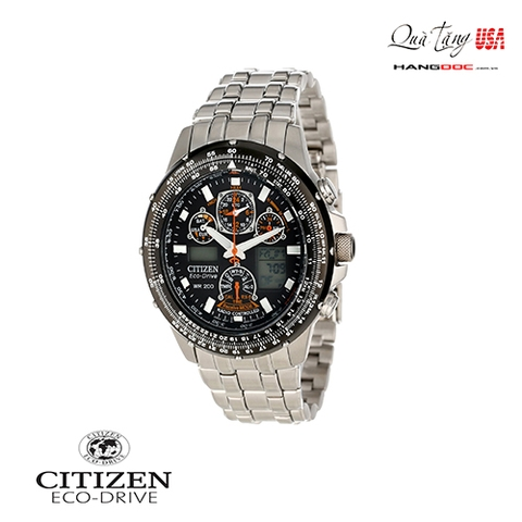 Citizen Men's Eco-Drive Skyhawk A-T Titanium Watch