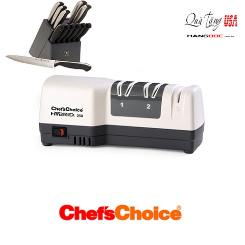 Máy mài dao Chef's Choice 250 Diamond Hone Hybrid Knife Sharpener